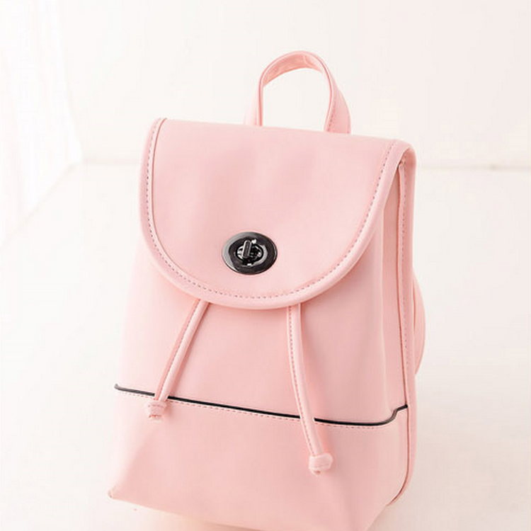 Candy Wonder Backpack Bag/Casual Outfit-TL0022-ROSE PINK by DOUBLE LH SUPPLY