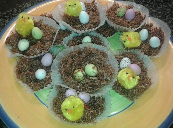 Chocolate Easter Nests ...... Recipe