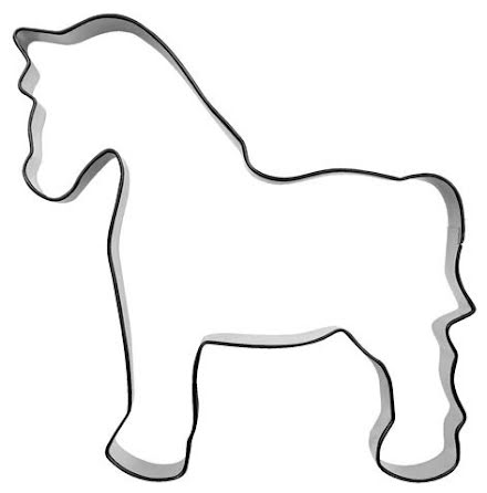 Kakform - Häst, 10 cm