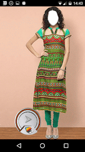 Indian Ladies Kurti Look - náhled