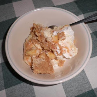 Mother Hart's Frozen Peach Dessert