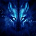 lobo noturno tema icon
