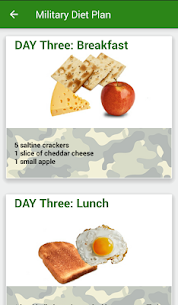 Tracker Weight Loss ★Military Diet★ 6