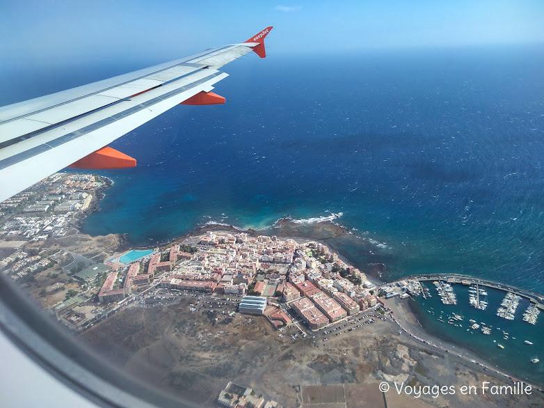 Vue sur Tenerife