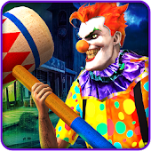 Scary Clown Attack Simulator 3D - Crime City 2018