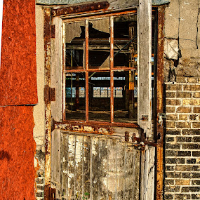 Doorway to the past. by Bob Stafford - Buildings & Architecture Decaying & Abandoned ( michigan, indstrial, bay city, door, decay,  )