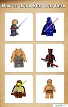 Draw star heroes on the phone - screenshot thumbnail 02