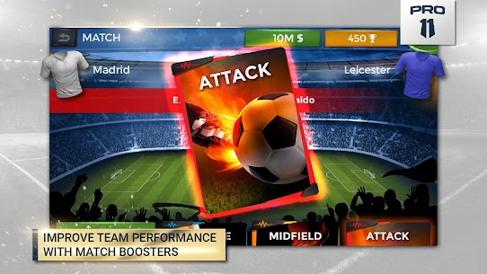Pro 11 – Soccer Manager GameApk Download For Android 4