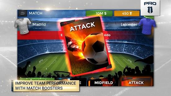 Pro 11 - Soccer Manager Game - náhled