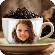 Coffee Cup Photo Frames Editor