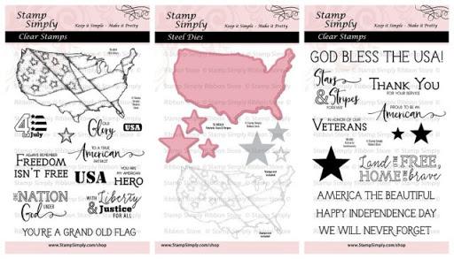 Patriotic Easel Card – by Julie Gearinger