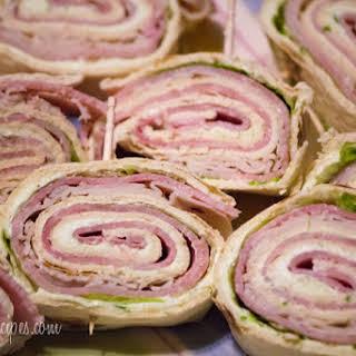 Easy Sandwich Pinwheels.