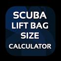 Scuba Lift Bag Size Calculator icon