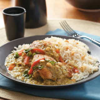 Slow-Cooker Thai Green Curry Chicken.