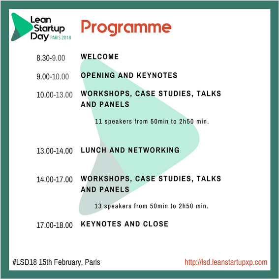 Lean Startup Day Programme English