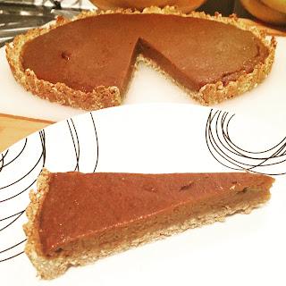 Pumpkin Pie (vegan, gluten-free)