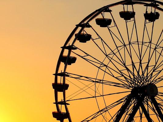 The Ferris wheel di Lisus