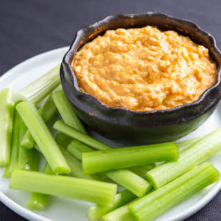 Cauliflower Buffalo Dip.
