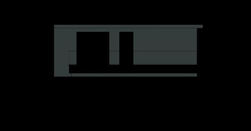 Modularny D28 - Elewacja przednia