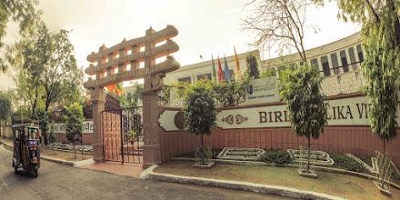 Photo: Balika Vidya Peeth, a girls school inside campus