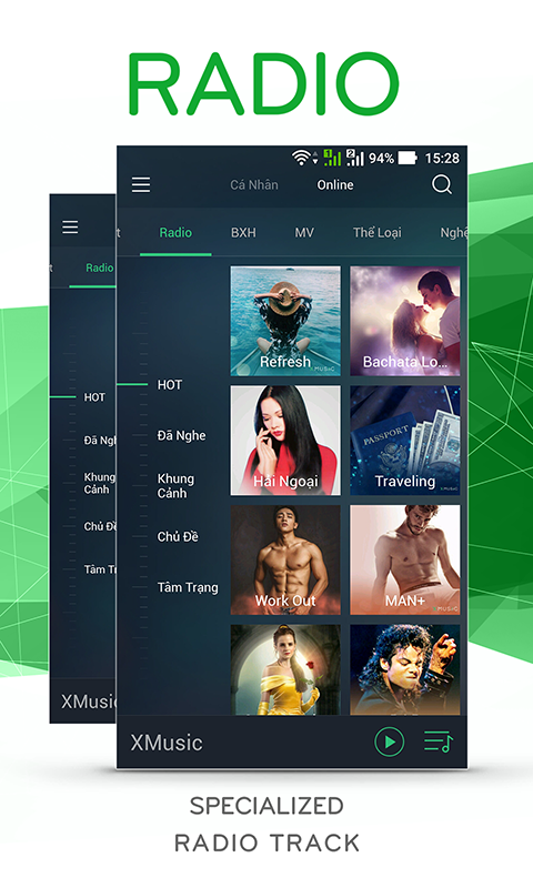XMusic- screenshot