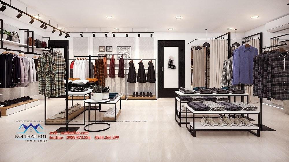 thiết kế shop thời trang đơn giản
