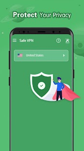 Safe VPN - Free Unlimited Fast Proxy VPN Screenshot