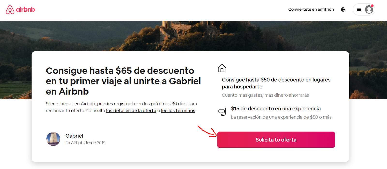 Cómo ganar dinero con Airbnb sin tener una casa recomendación Gabiajando