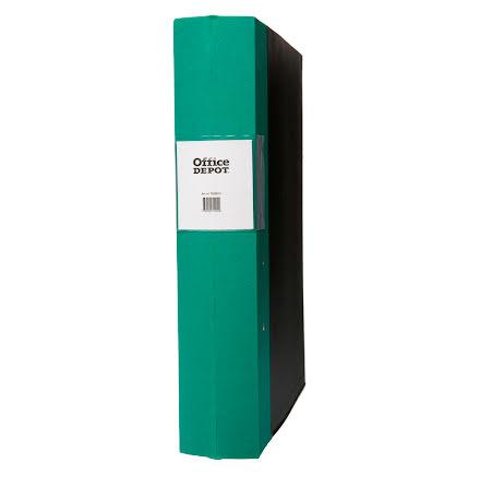 Träryggspärm A4 60 mm grön