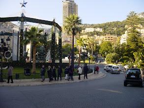 Photo: Looking out towards La Place du Casino.