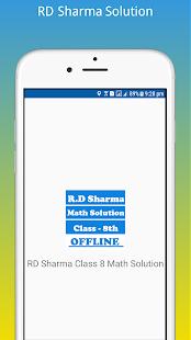 rd sharma class 8 math solution offline apps on google play