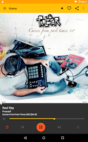 Screenshot of MusicBee Remote