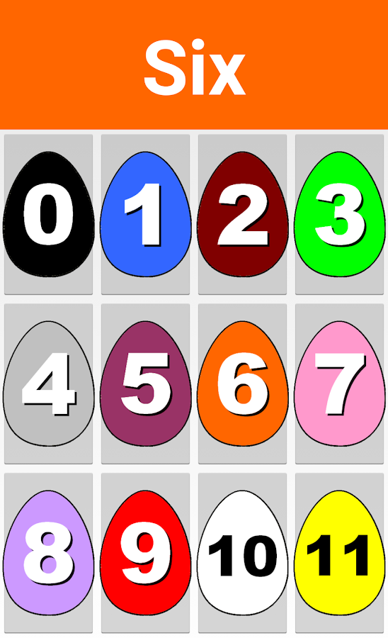 Learn Numbers With Eggs- screenshot