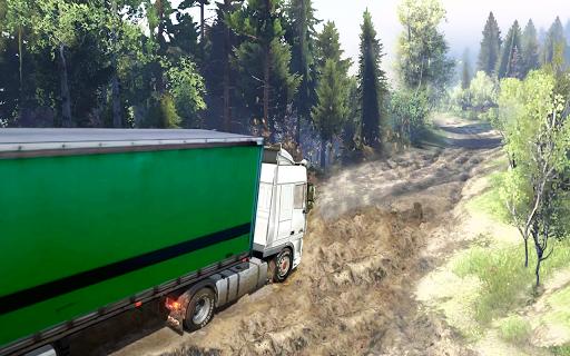 Offroad truck driver 4X4 cargo truck Drive 3D 1.0.8 screenshots 14