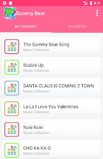 Gummy Bear kids songs - náhled
