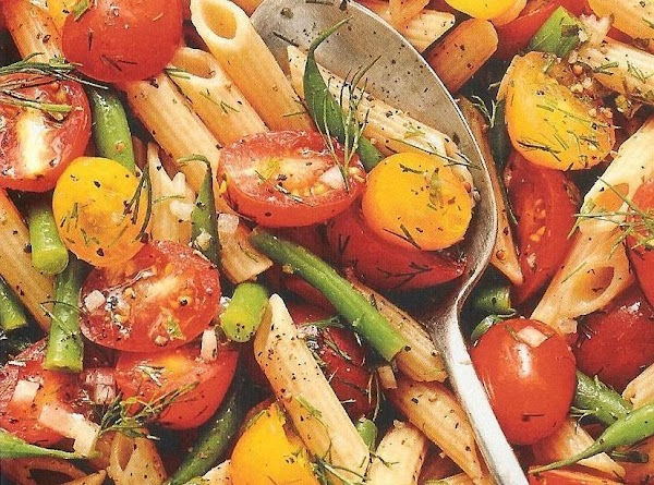 Penne With Green Beans And Tomatoes Recipe