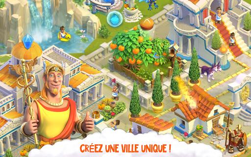 Télécharger Divine Academy: jeu de ferme avec les dieux grecs APK MOD (Astuce) screenshots 6