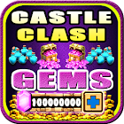 Gems For Castle Clash [ Cheats 2017 ] - prank icon