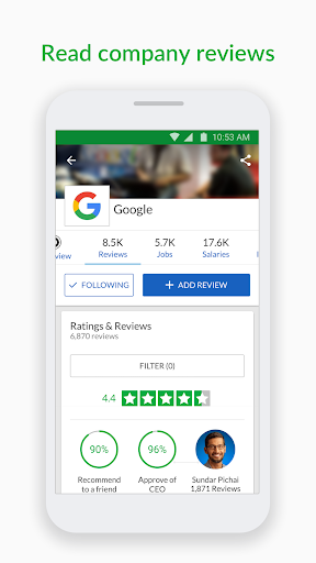 Glassdoor Job Search, Salaries & Reviews  screenshots 5