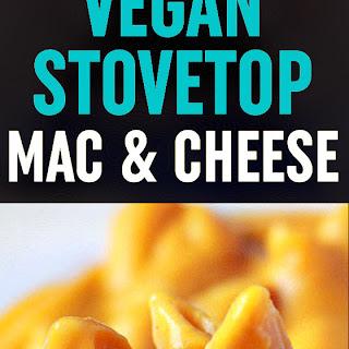 "Super Creamy Vegan Stovetop Mac & ""Cheese""."