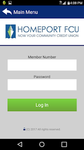 Homeport FCU Mobile Banking- screenshot thumbnail