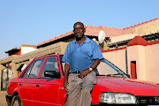 Albert Dhlamini's  car number plate was stolen  and was later found at a crime scene where Ngwako Modjadji was killed.