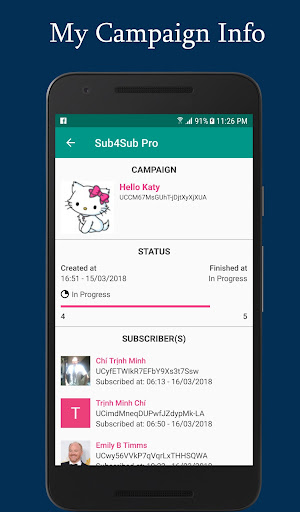 Sub4Sub Pro (No Ads)  screenshots 7