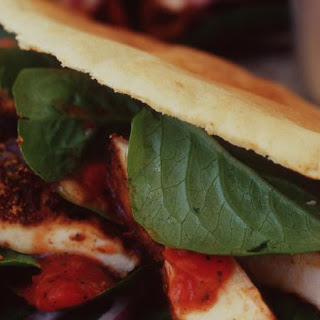 Cajun Chicken Pitas.