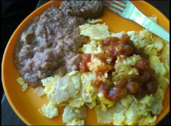 Antonio's Miagas Con Huevos Recipe