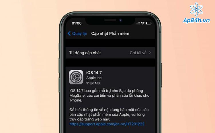 Tính năng mới trong iOS 14.7
