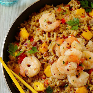 Shrimp Coconut Fried Rice