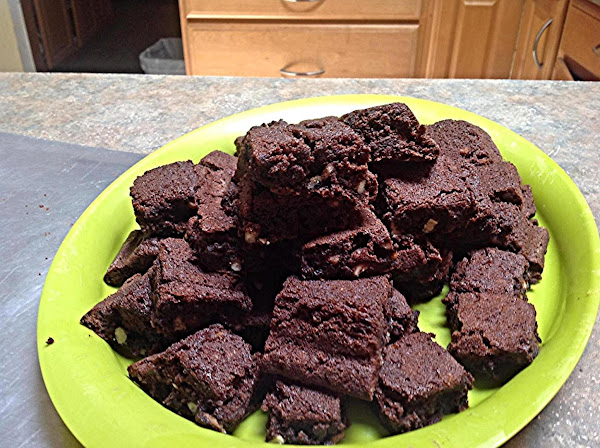 Holiday Party Size Moist Brownies Recipe