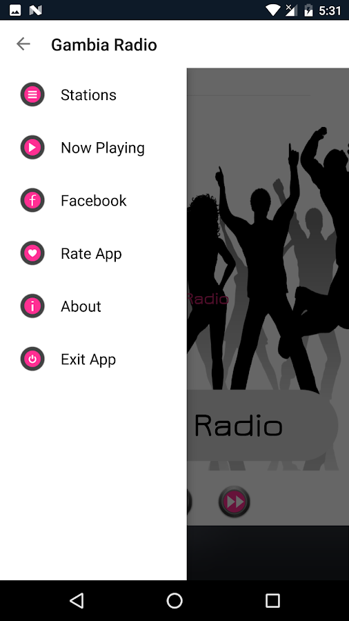 Gambia Radio- screenshot