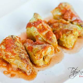 Голубцы – Cabbage Rolls Filled with Pork